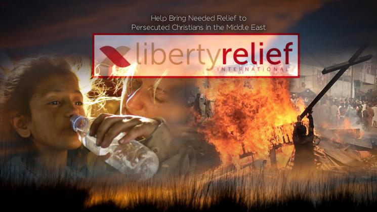 Bring Relief To Persecuted Christians!